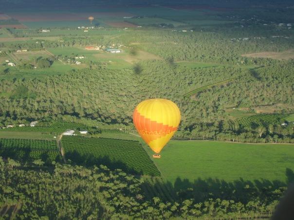 Ballooning in Cairns, Australia.