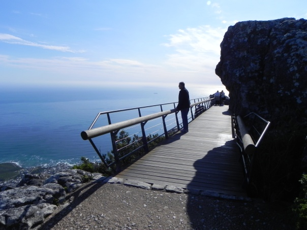 Table Rock, Cape Town, South Africa.