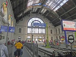 Budapest Keleti Station.