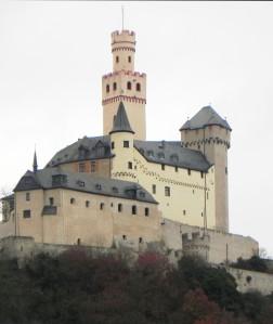 Castles in the rain.
