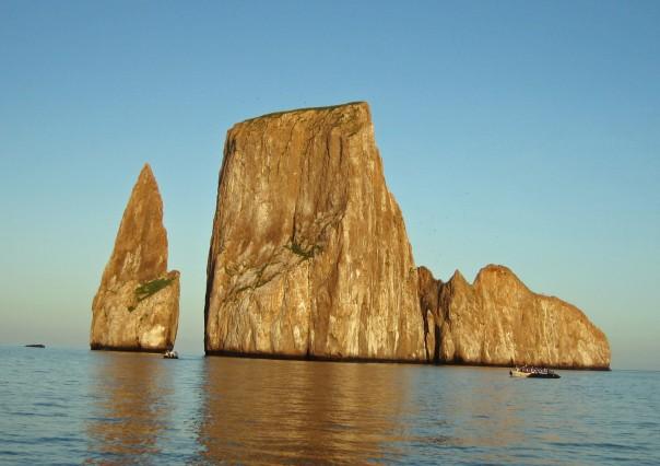 Kicker Rock, the Galapagos Islands, Ecuador.