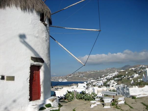 Beautiful Mykonos, Greece.