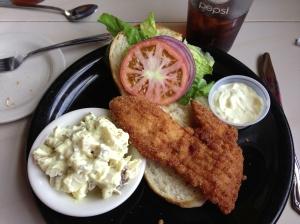 At Castaways Oceanside Restaurant, MM48, Marathon in the Florida Keys