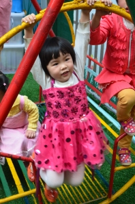 Fengdu day care kids at play.