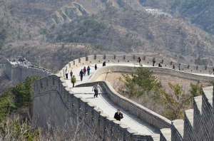 The incomparable Great Wall of China, Badaling section.