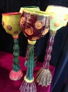Fanciful creations by Jenny Lou Sherburne.