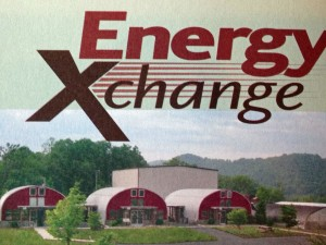 From the Xchange brochure, showing a good overview of the site.