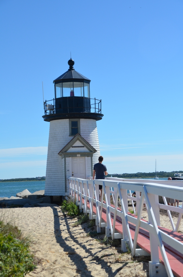 Brant Point Lighthouse.