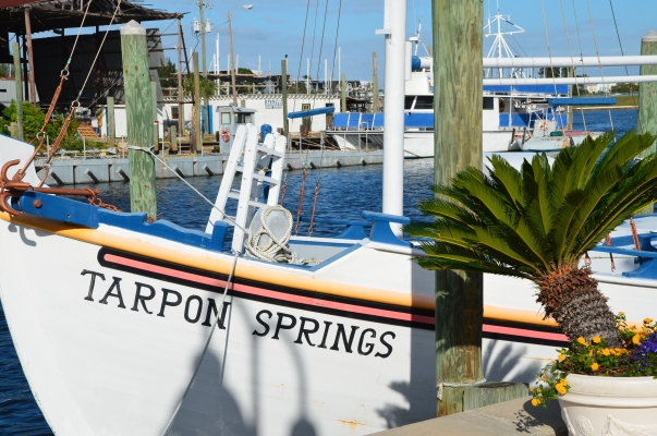 Quaint, historic Tarpon Springs, Florida; sponge capitol of the Gulf coast.