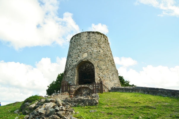 The Annaberg Sugar Plantation ruins, from 1718 - 1848 one of the largest.
