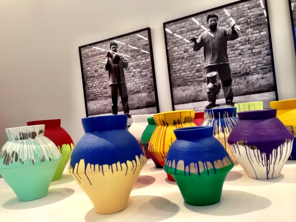 Art and images of controversial Chinese dissident/artist Ai Weiwei. Perez Art Museum Miami.