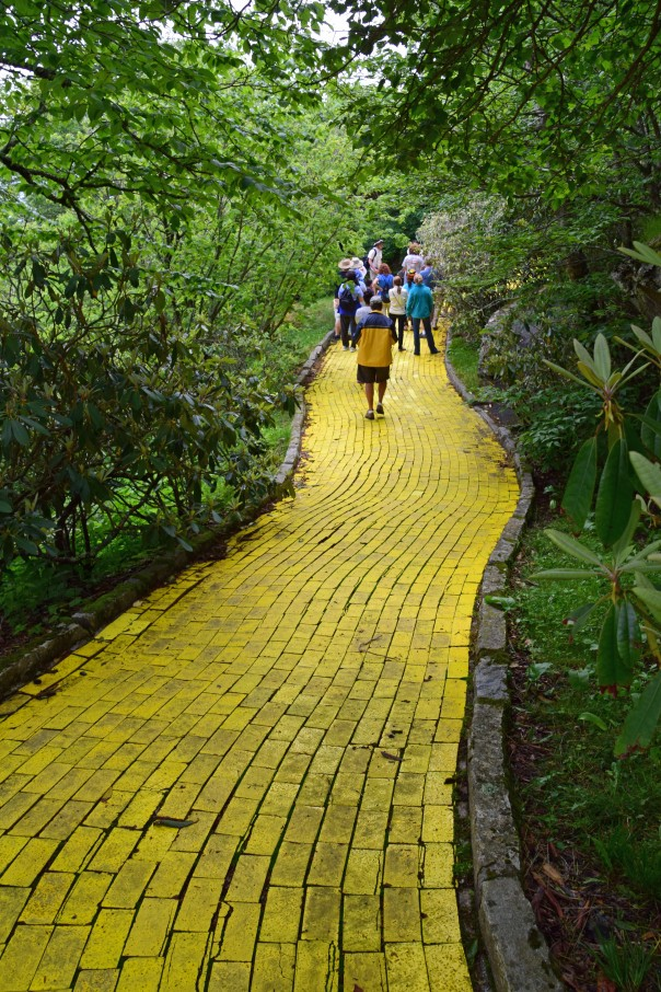 Follow the Yellow Brick Road . . . .