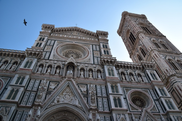 The Campanile, at the Florence Duomo.