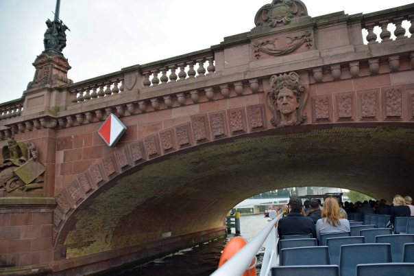An enjoyable river cruise on the Spree; trips last about an hour.