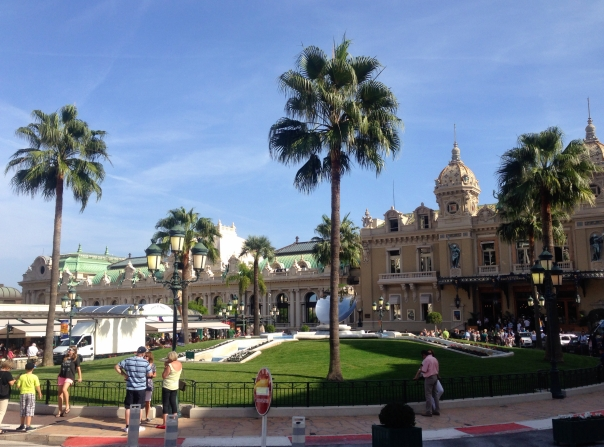 The Monte Carlo Casino - not worth the fuss.