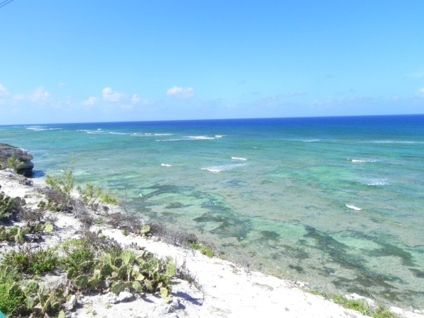 Beautiful waters surround Grand Turk.