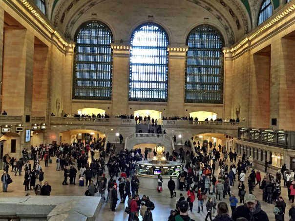 Lobby of the Grand Central Terminal.