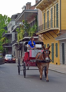The Vieux Carre (French Quarter).