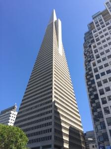 Transamerica Pyramid.
