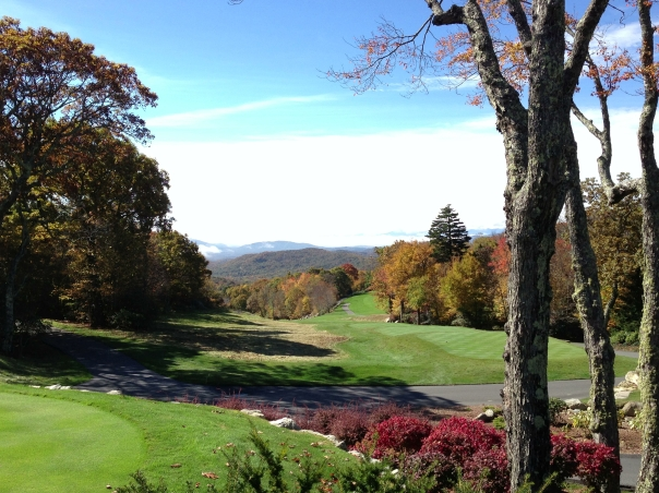 Linville Ridge Country Club.