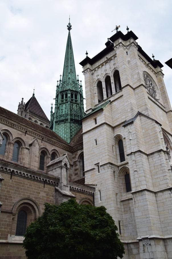 In Old Town, Geneva.
