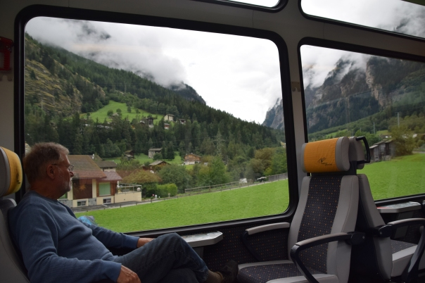 The route from Geneva took us through the Swiss towns of Nyon, Morges, Lausanne, Vevey, Montreux, Aigle, Bex, St.Maurice, Martigny, Sion, Sierre and Leuk before arrival in Visp.