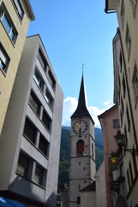 Old Town in Chur.