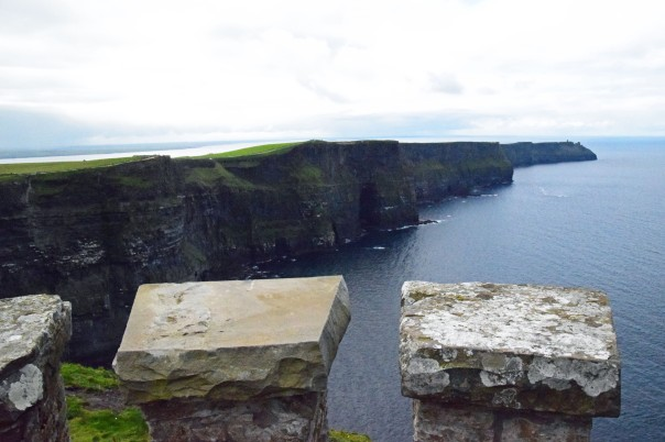 The Cliffs of Moher has around 1 million visitors annually.