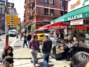 Who's hanging out on Mulberry Street?