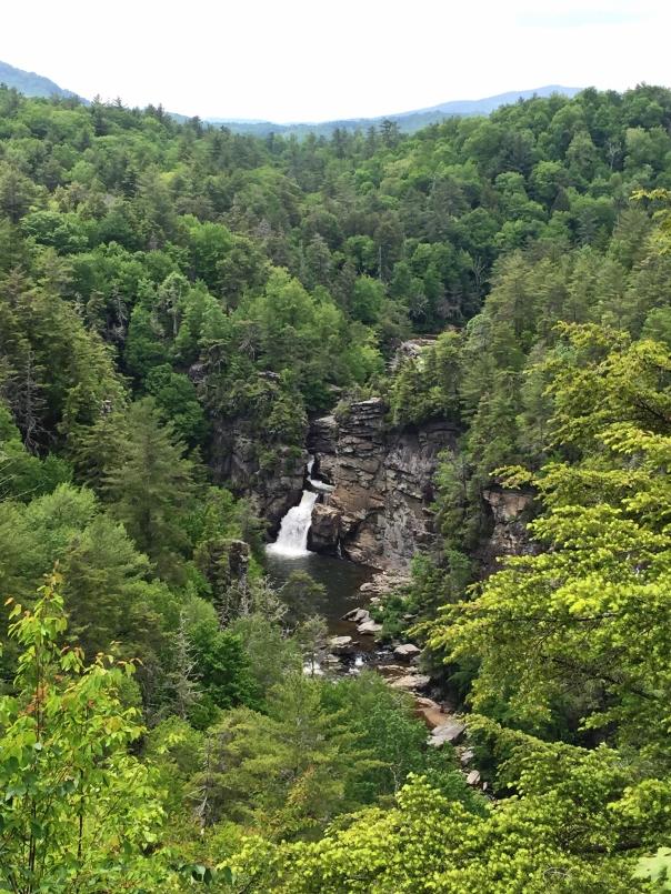 Beautiful Linville Falls.