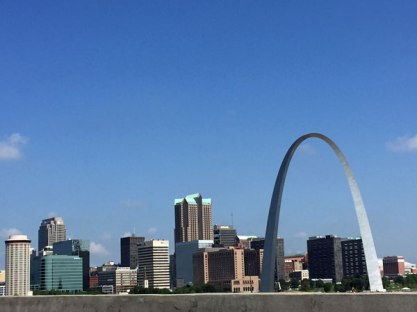 The Gateway Arch.