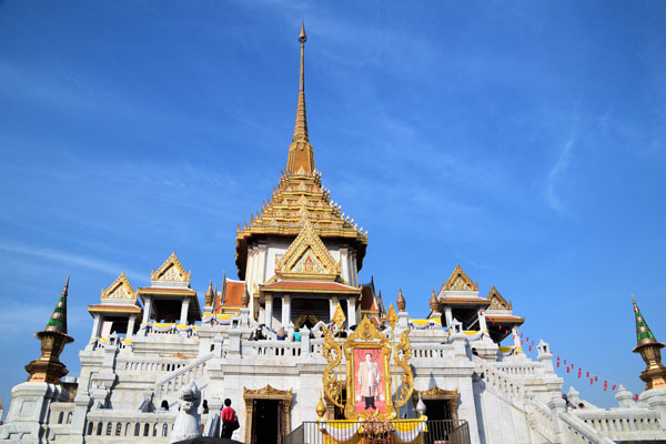 Wat Traimit, home of the Golden Buddha.