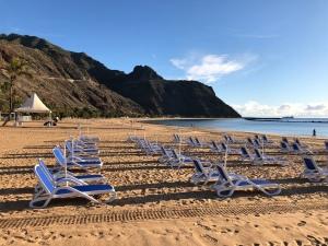 Playa del Teresitas, Tenerife, Spain.